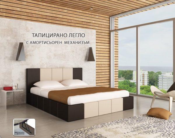 тапицирано легло Казабланка